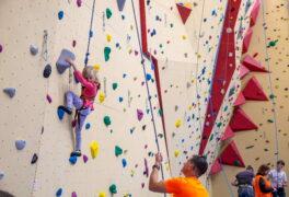 Lektor na lezeckou stěnu